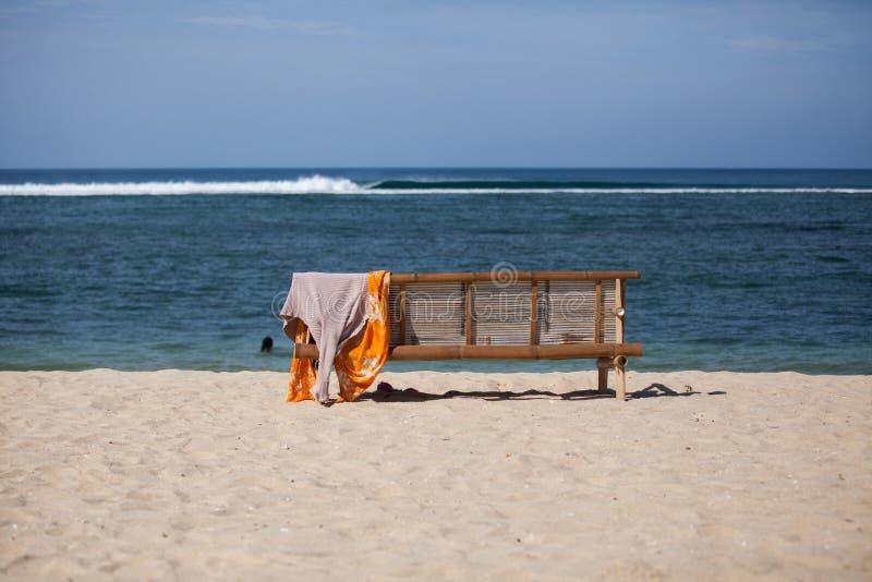 Playa vacía en Aceh imágenes de archivo libres de regalías