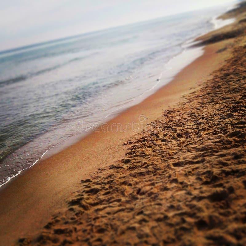 Playa Valencia foto de archivo libre de regalías