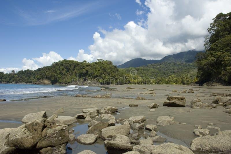 Playa Ventanas. La Costa Rica. immagini stock libere da diritti
