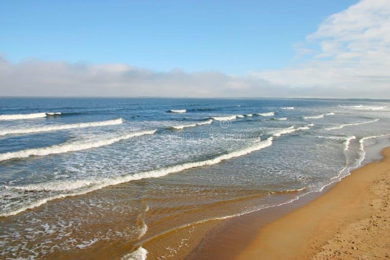Playa vieja de la huerta, Maine fotos de archivo libres de regalías