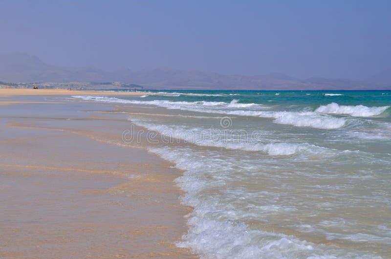 Playa y océano fotografía de archivo libre de regalías