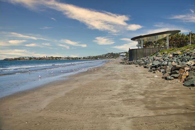 Playa Yeppoon imágenes de archivo libres de regalías
