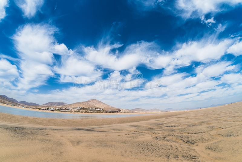 Playarisco El Paso Panorama royalty-vrije stock afbeelding