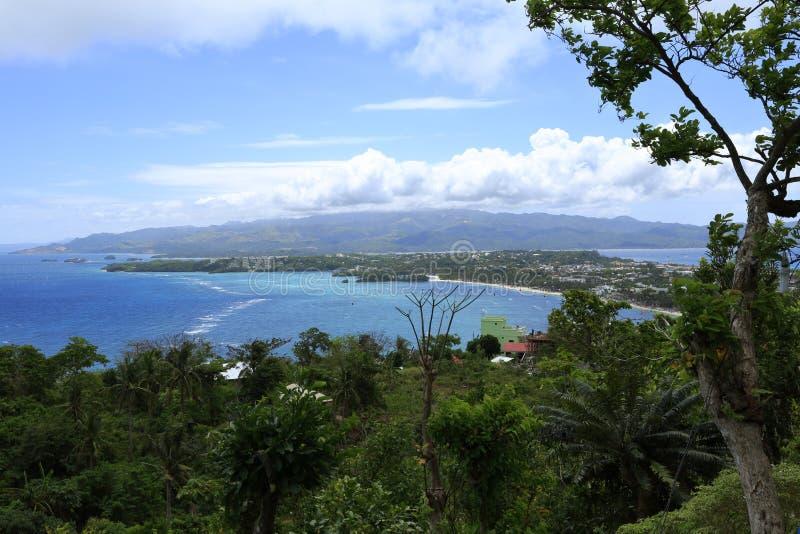 Playas de Boracay, isla en vida imágenes de archivo libres de regalías