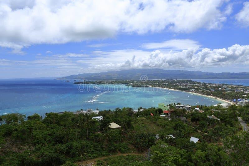 Playas de Boracay, isla en vida imagenes de archivo