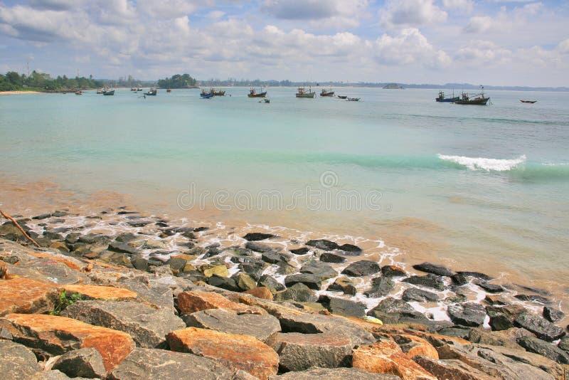 Playas de Sri Lanka foto de archivo