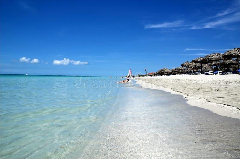 Playas de Varadero, Cuba imágenes de archivo libres de regalías