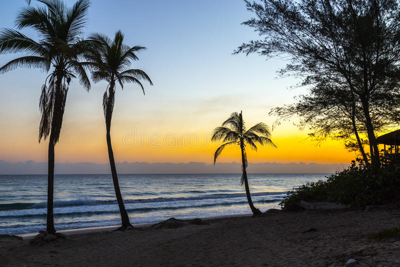 Playas del Este, Cuba fotografia stock