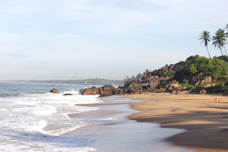 Playas rocosas imagenes de archivo