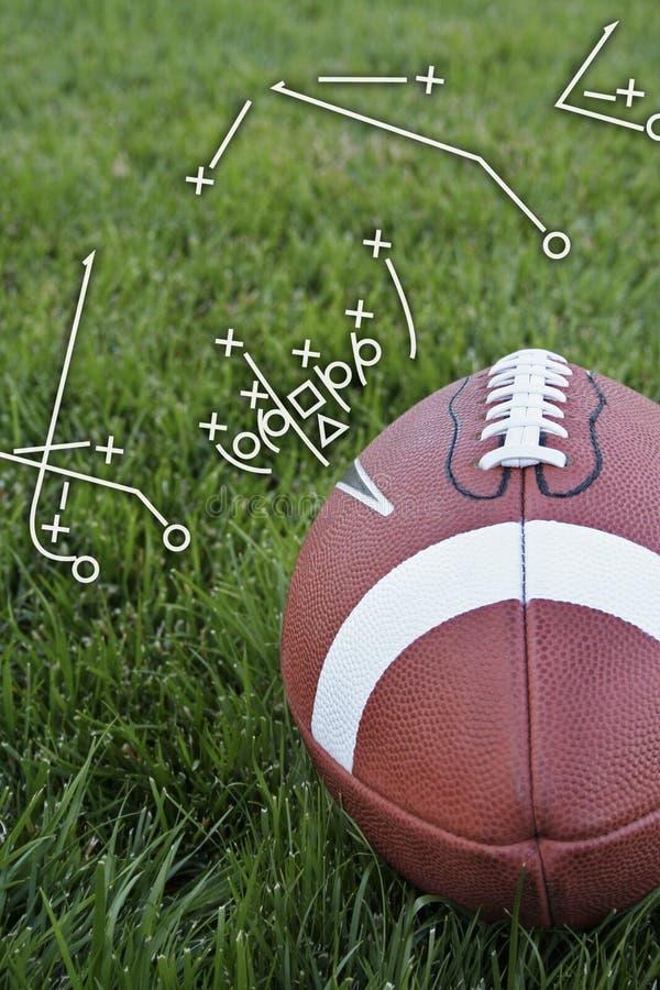 Playbook di gioco del calcio immagini stock libere da diritti