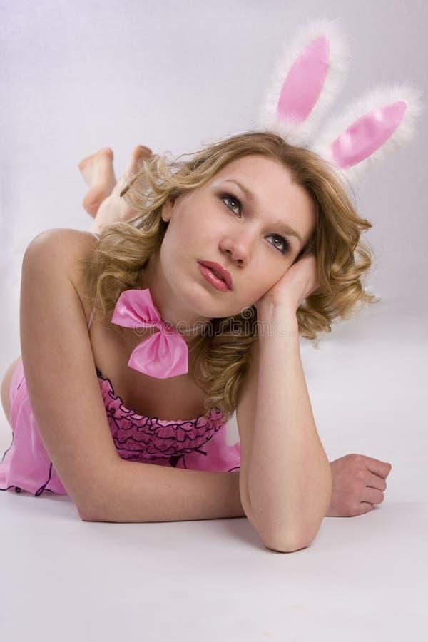 Free Playboy Girl Royalty Free Stock Photo - 13265415