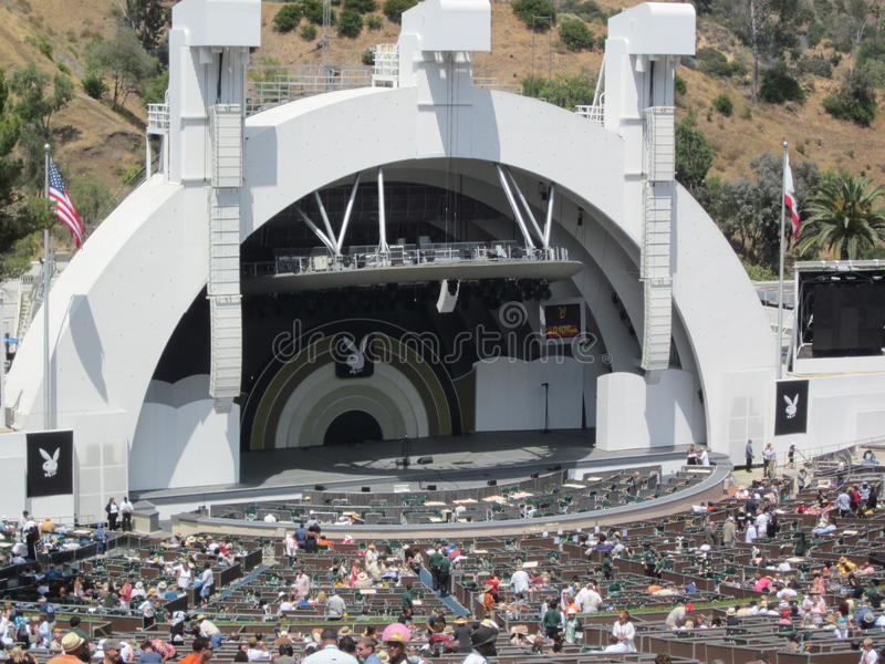 Playboy Jazz Festival Hollywood Bowl stock images