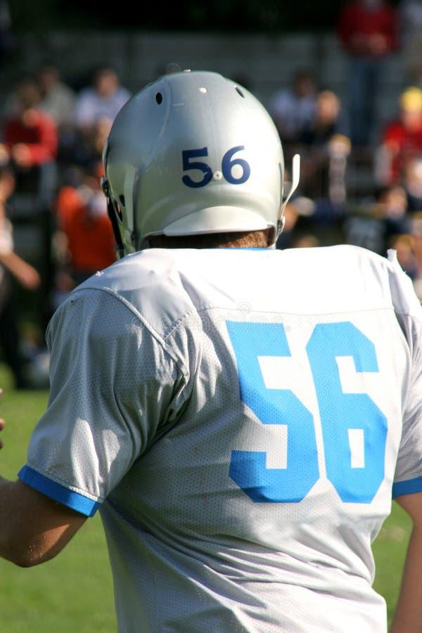 Player American football royalty free stock photos
