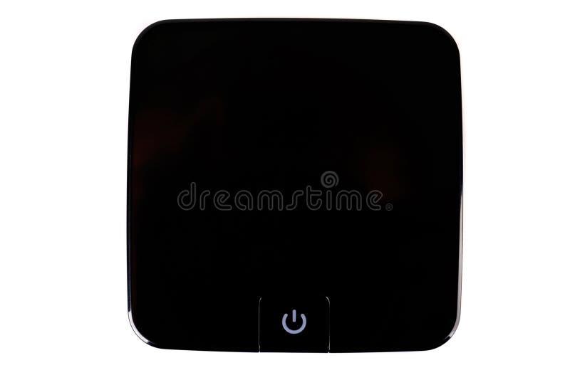 Player multimediale per la TV immagini stock libere da diritti