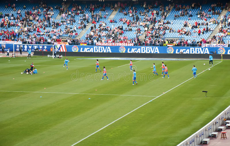 Download Players Atletico de Madrid editorial image. Image of people - 20864320