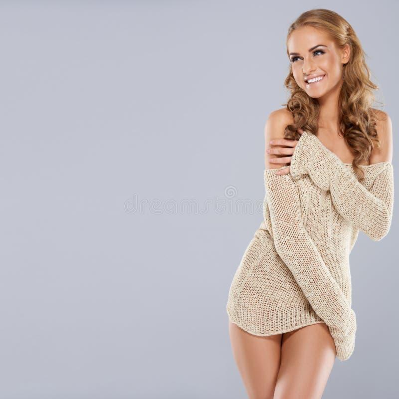 Download Playful Beautiful Blonde Model Stock Photo - Image: 28624294