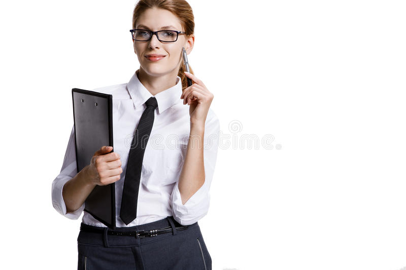 Download Playful businesswoman stock image. Image of business - 34967993
