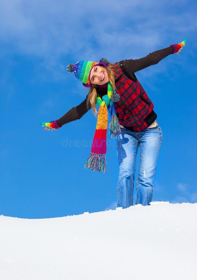 Playful female royalty free stock photography