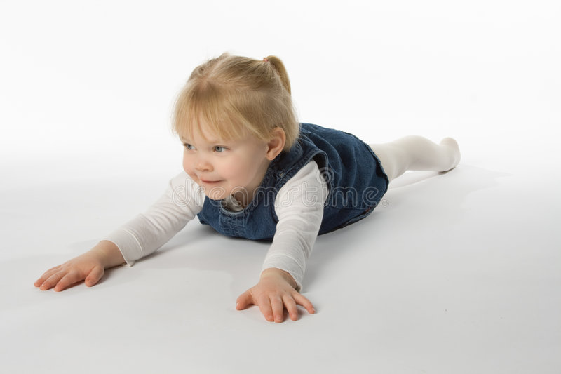 Playful Girl stock images