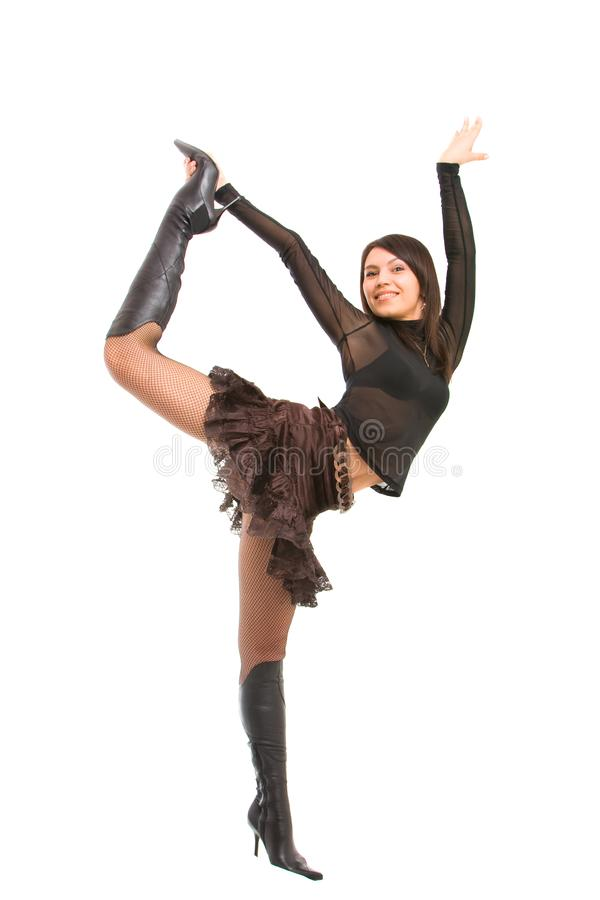 Download Playful girl stock photo. Image of hair, glamour, dance - 8638172