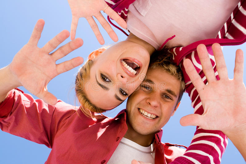 Download Playful lovers stock image. Image of funky, caucasian - 10043333