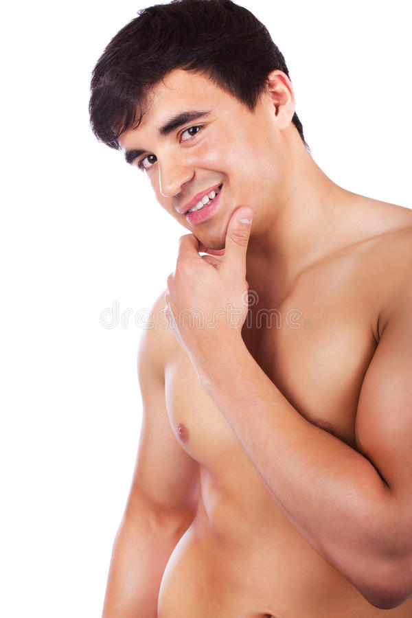 Download Playful man stock photo. Image of attractive, flirty - 19392496