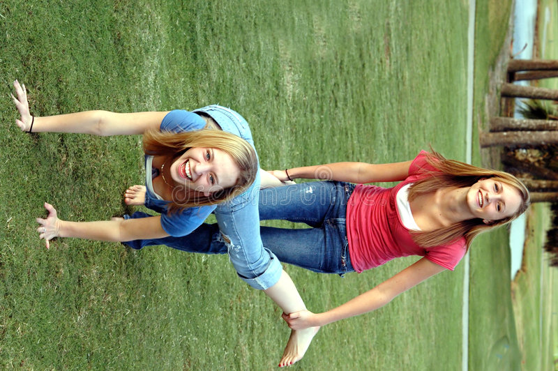 Download Playful teens stock image. Image of laugh, emotion, girlfriend - 1378701