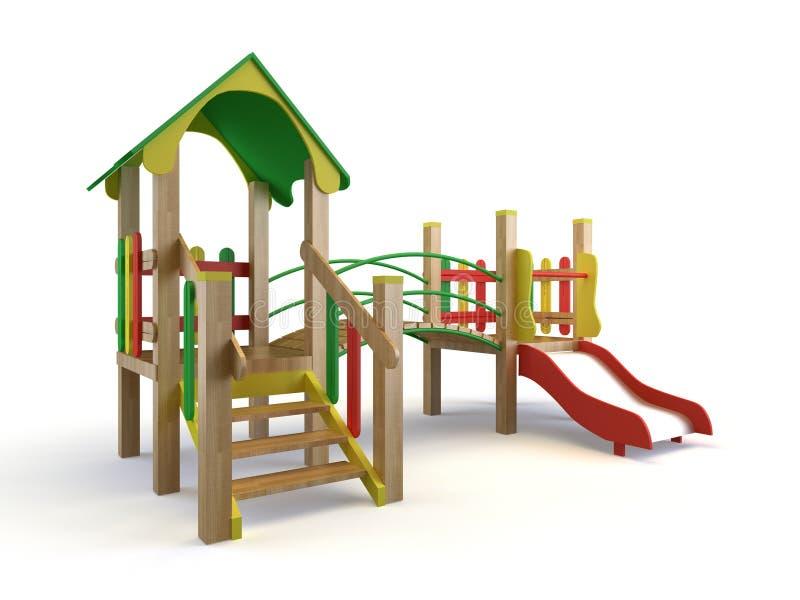 Download Playground stock illustration. Image of childhood, children - 11184157