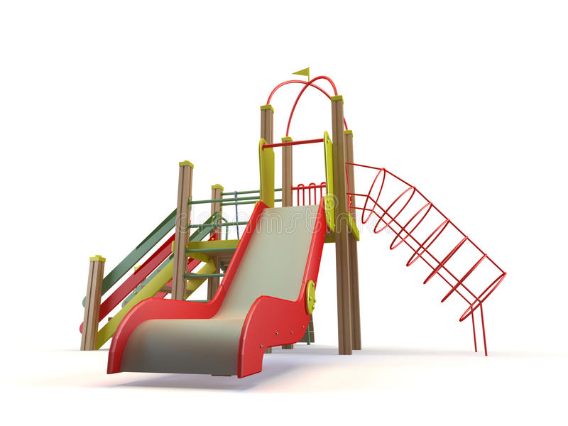 Download Playground stock illustration. Image of leisure, slide - 11184159