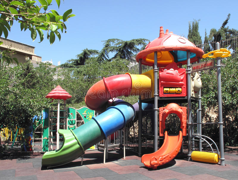 Download Playground stock photo. Image of outside, color, curve - 15140692