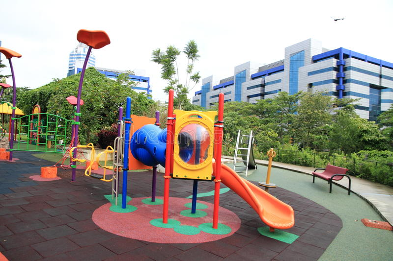 Download Playground stock image. Image of playful, house, monkeybars - 16220465