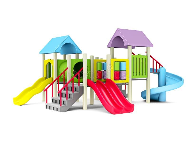 Playground royalty free illustration