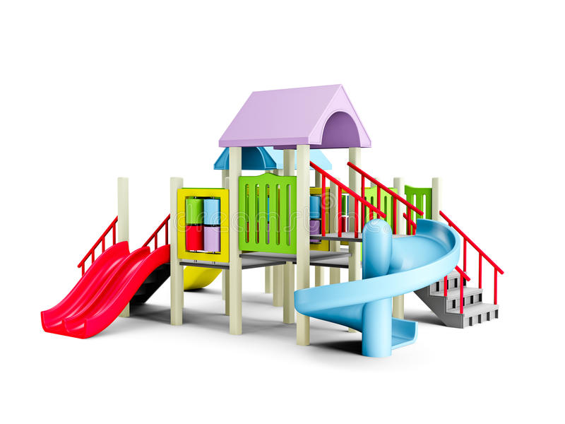 Download Playground stock illustration. Image of color, playful - 17207842
