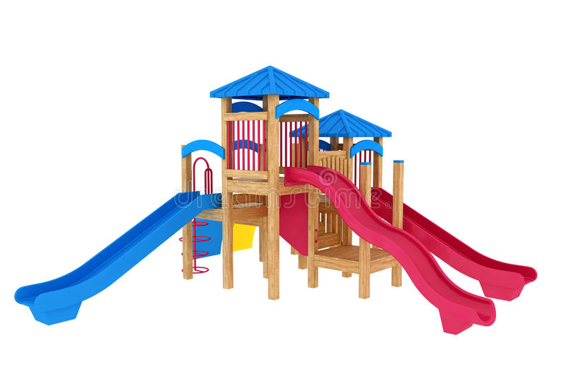 Download Playground stock illustration. Image of wood, colourful - 19013969