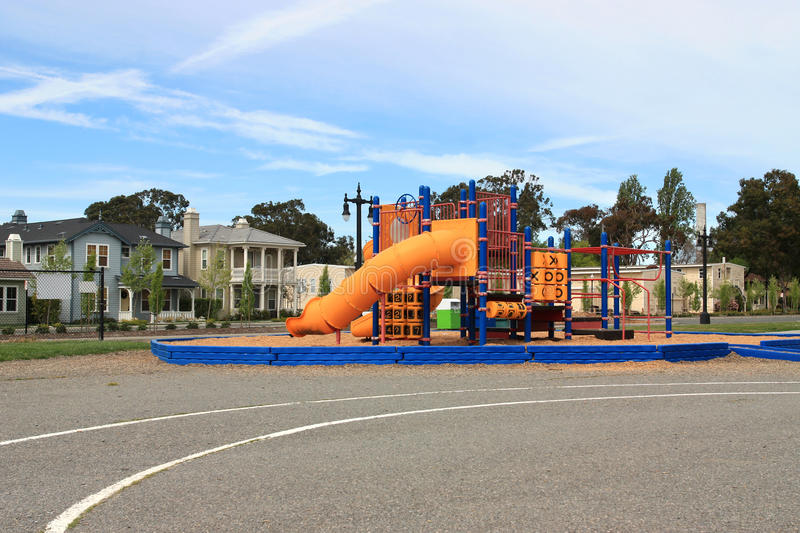 Download Playground stock photo. Image of fence, equipment, colorful - 20384408