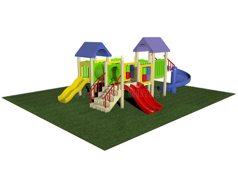 Download Playground stock illustration. Image of equipment, childhood - 20868486