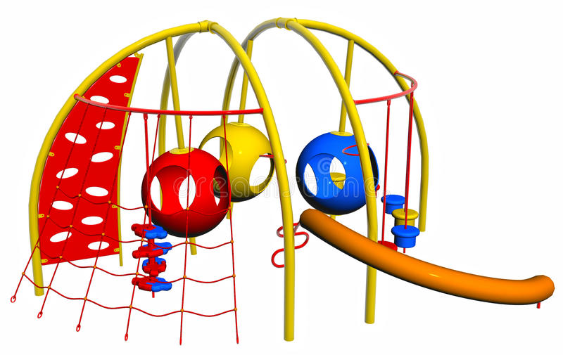 Download Playground stock illustration. Illustration of enjoyment - 21946275