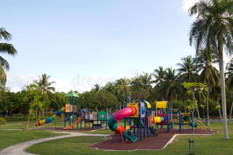 Download Playground stock image. Image of games, botanical, park - 26115169