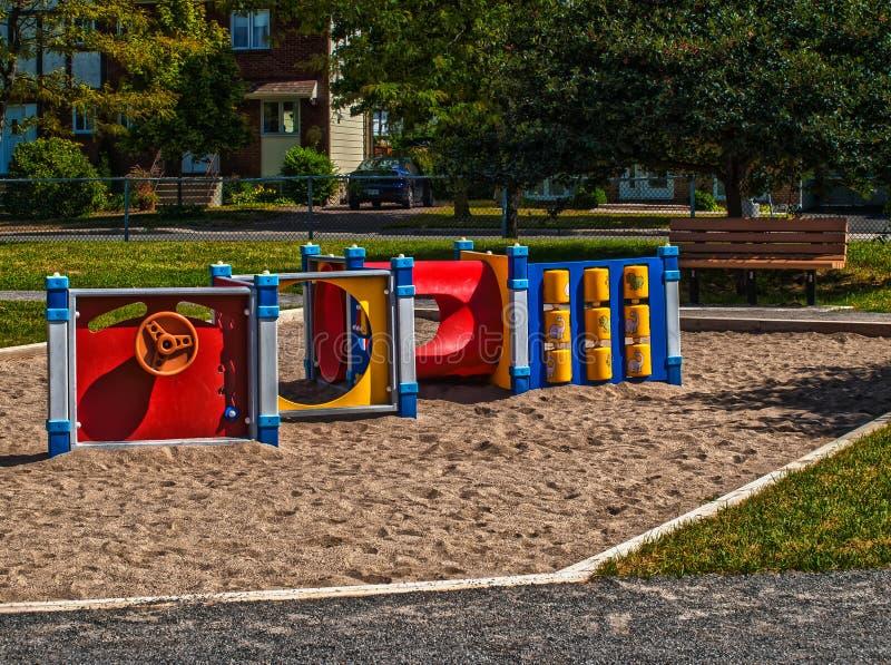 Playground stock image