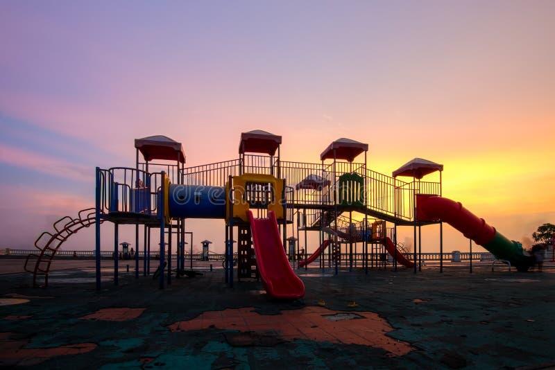 playground imagem de stock