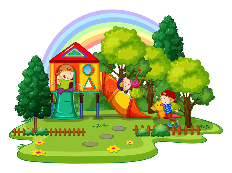 playground illustration stock