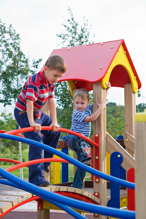 Download Playground stock image. Image of little, happiness, playing - 6413033