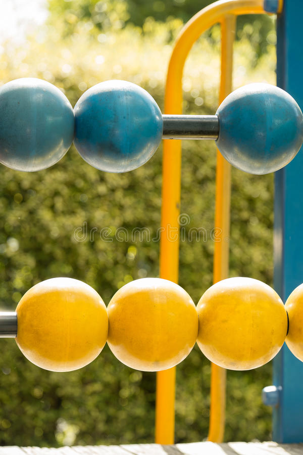 Playground Abacus stock photography