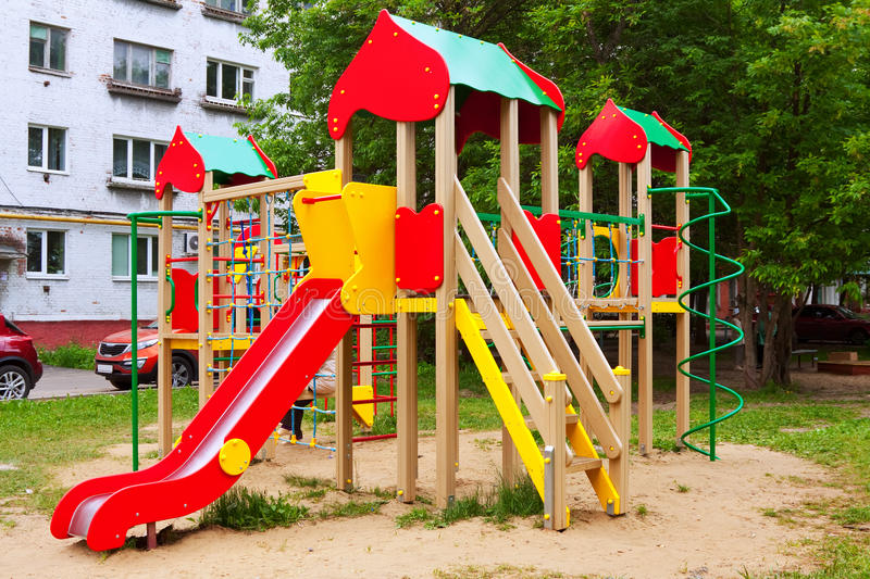 Download Playground area, nobody stock photo. Image of summer - 25500254
