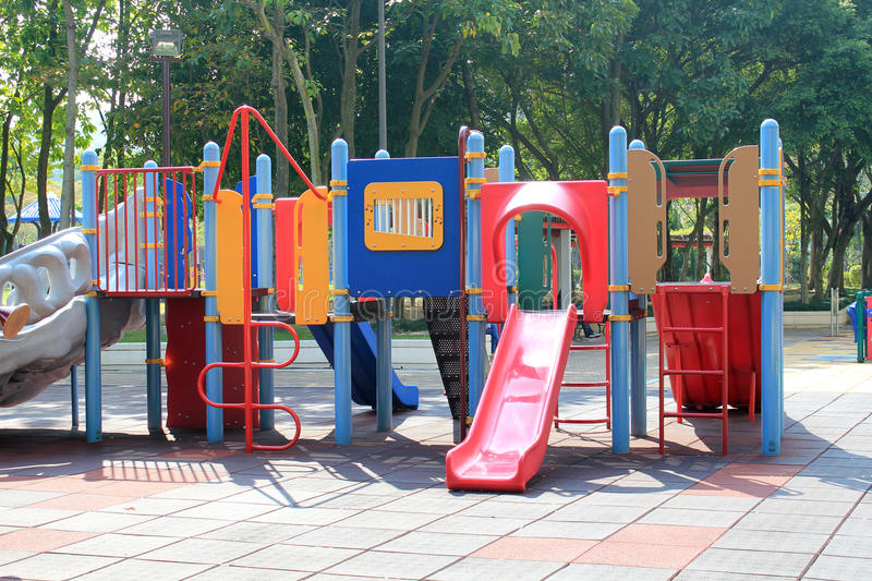 Public, space, playground, outdoor, play, equipment, leisure, recreation, slide, city, chute, park. Photo of public, space, playground, outdoor, play, equipment royalty free stock image