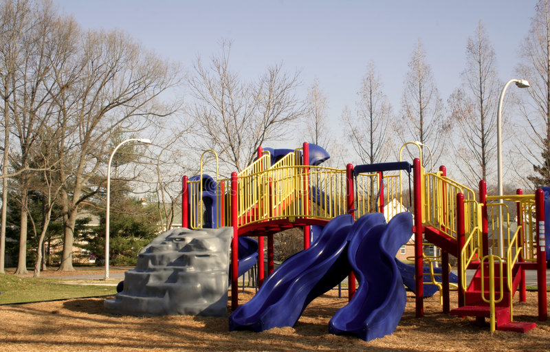 Download Playground Equipment stock photo. Image of exercise, bright - 1716884