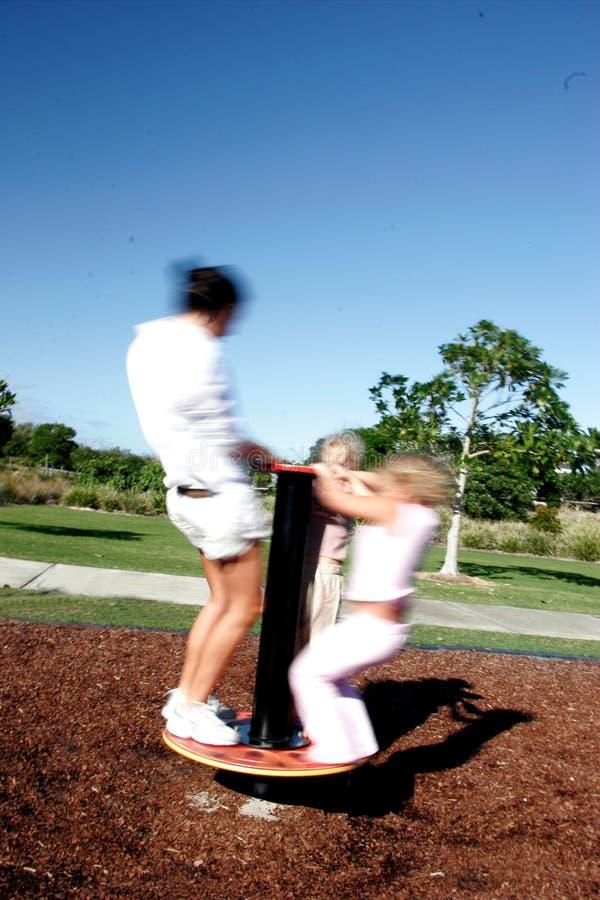 Playground fun stock photography