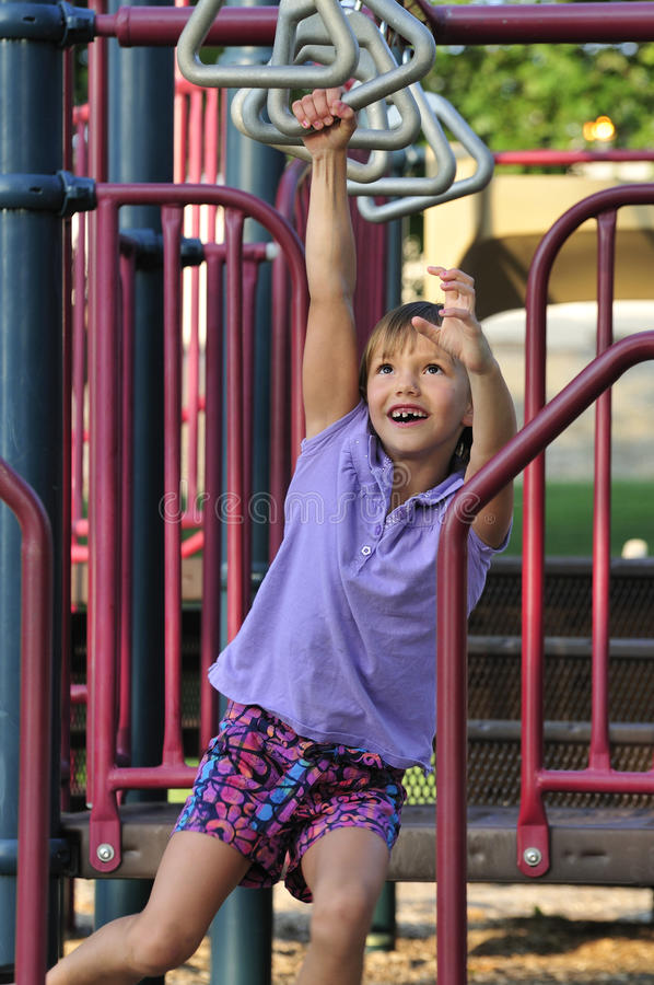 Playground fun royalty free stock photography
