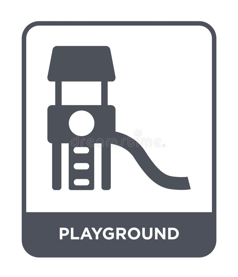 playground icon in trendy design style. playground icon isolated on white background. playground vector icon simple and modern vector illustration