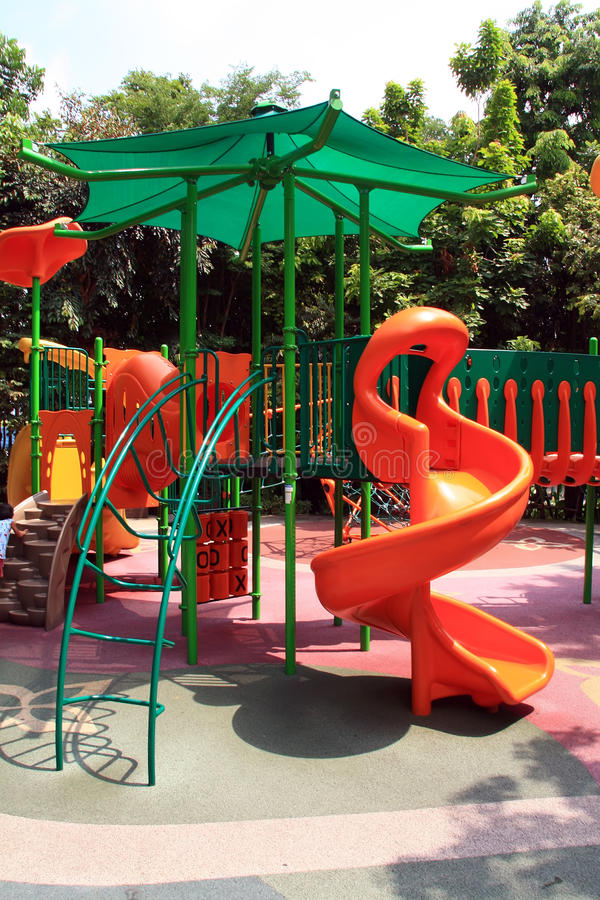 Free Playground In The Park Stock Photo - 14202480
